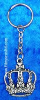 CROWN KEYRING ENGLAND UK LONDON SOUVENIR KEY RING
